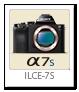 α7S 「ILCE-7S」 フルサイズ Eマウント デジタル一眼カメラ