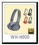 WH-H800 ワイヤレスステレオヘッドセット(ヘッドバンド型)