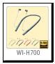 WI-H700 ワイヤレスステレオヘッドセット(ネックバンド型)