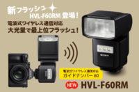 hvl-f60rm フラッシュ ガイドナンバー60 sony