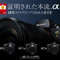 カメラグランプリ2018,α9,ilce-9,sony
