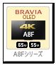 bravia,ブラビア,2018,sony,ソニーストア,A8Fシリーズ,KJ-55A8F,KJ-65A8F