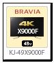 bravia,ブラビア,2018,sony,ソニーストア,X9000Fシリーズ,KJ-49X9000F