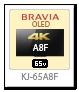 bravia,ブラビア,2018,sony,ソニーストア,A8Fシリーズ,KJ-55A8F