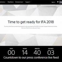 ifa2018,sonypresscanfarence,ソニープレスカンファレンス