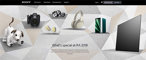 ifa2018,sony,press,canfarence,newproducts,xperiaxz3