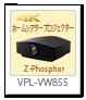 VPL-VW855,4khdrホームシアタープロジェクター