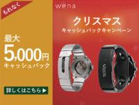 wena wrist,クリスマスキャンペーン