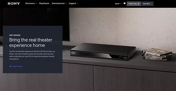 Sony CES 2019 プレスカンファレンス,UBP-X800M2
