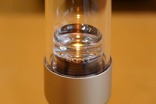 LSPX-S2,グラスサウンドスピーカー,実機レビュー