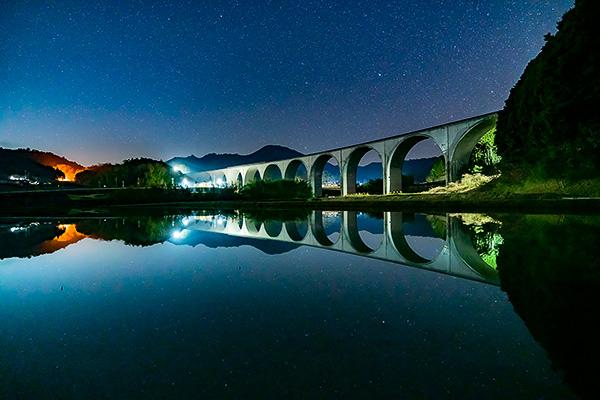 天の川,虎臥城大橋,α7RII,ilce-7rm2,sel1635gm,16mmf2.8