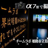 チームラボ,姫路市立美術館,α<アルファ>デジタル一眼カメラ,α7III,ILCE-7M3,sel24f14gm,sel1635gm,sel85g14gm