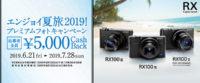 エンジョイ夏旅2019!プレミアムフォトキャンペーン,DSC-RX100M6,DSC-RX100M5,DSC-RX100M3,RX100VI,RX100V,RX100III