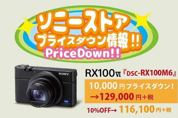 RX100VI,DSC-RX100M6