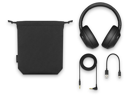 WH-XB900N,ワイヤレスノイズキャンセリングヘッドホン,EXTRA BASS,付属品