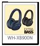 WH-XB900N,ワイヤレスノイズキャンセリングヘッドホン,EXTRABASS