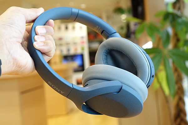 WH-H910,ワイヤレスノイズキャンセリングヘッドホン,レビュー
