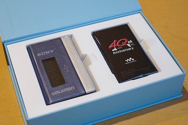 WALKMAN,A100,ウォークマン,Androidレビュー,40周年記念モデル