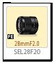 SEL28F20,28mmF2.0
