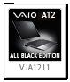 VAIO A12,VJA1211,ALL BLACK EDITION,オールブラックエディション