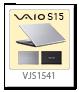 VAIO S15,VJS1541