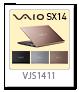 VAIO SX14,VJS1411