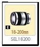 SEL18200,レンズ,Eマウント,α<アルファ>デジタル一眼カメラ,APS-C