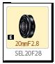 SEL20F28,20mmF2.8,レンズ,Eマウント,α<アルファ>デジタル一眼カメラ,APS-C