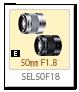 SEL50F18,50mmF1.8,レンズ,Eマウント,α<アルファ>デジタル一眼カメラ,APS-C