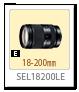 SEL18200LE,レンズ,Eマウント,α<アルファ>デジタル一眼カメラ,APS-C