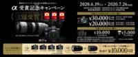 α<アルファ>デジタル一眼カメラ,α受賞記念キャンペーン