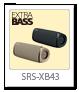 SRS-XB43,ワイヤレススピーカー