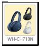 WH-CH710N,ワイヤレスノイズキャンセリングヘッドホン
