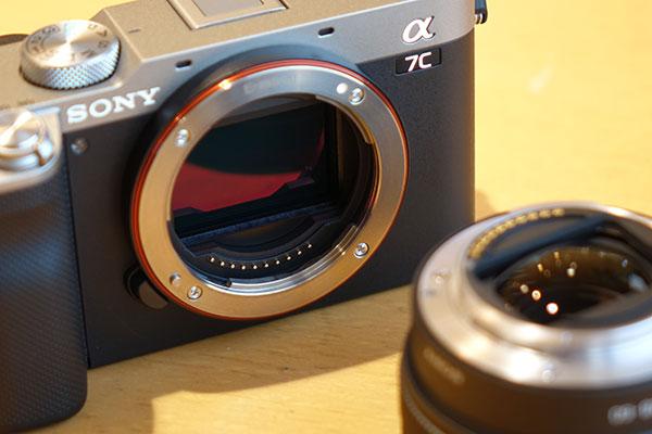 α7C,ilce-7c,デジタル一眼カメラ,コンパクトフルサイズ,開梱レビュー
