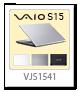 VAIO,S15,VJS1541