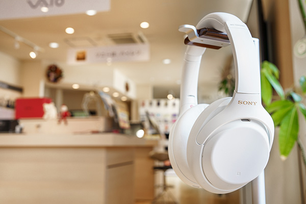 WH-1000XM4,Silent White,LIMITED EDITION,サイレントホワイト,ソニーストア,実機レビュー