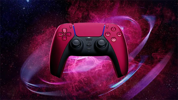 PS5,コントローラー,DualSense,コズミックレッド,ミッドナイトブラック