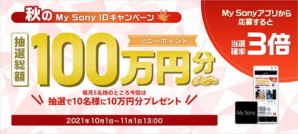 My Sony IDキャンペーン,ソニーストア